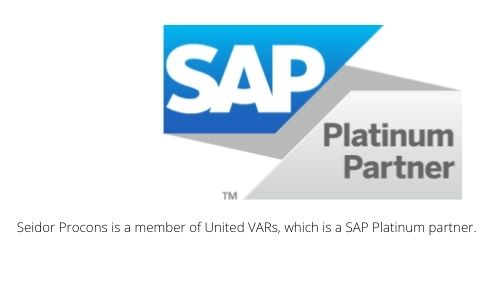 Seidor Procons is a member of United VARs, which is a SAP Platinum partner.